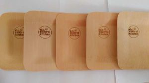 Disposable Compostable Bamboo Plate Bamboo Biodegradable Dishes pictures & photos