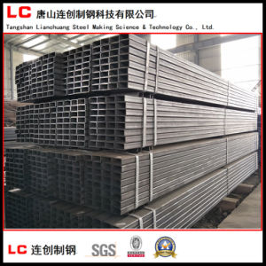 En10219 Black Square Steel Pipe Weld. Q235 pictures & photos
