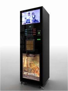 Ads Coffee Vending Machine with Video pictures & photos