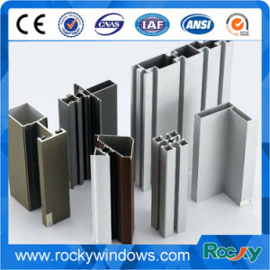 Various Shapes Cream White Extrusion Aluminum Profiles pictures & photos