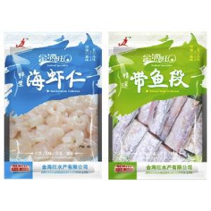 Three Side Seal Bag with Sea Food