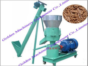 Rabbit Chicken Flat Die Electric Animal Feed Pellet Making Machine pictures & photos