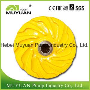 Acid Resistant High Chrome Alloy Oil Sand Handling Slurry Pump Impeller pictures & photos
