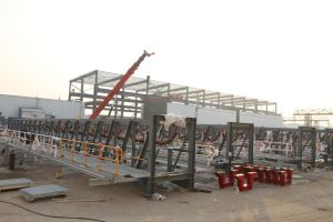Pre-Assembly Steel Structure (Galvanized and Painting) pictures & photos