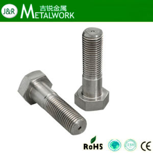 "Stainless Steel Hex Cap Screw (1/4""-3"", M5-M100) pictures & photos"