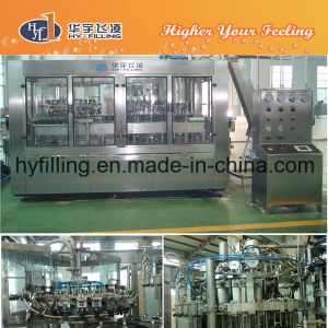 Full Automatic Glass Bottle Draft Beer Filling Line pictures & photos