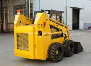 China Bobcat Mini Skid Steer Loader with Attachments pictures & photos