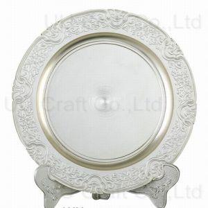 Antique Silver Plaque (9-8065-18)