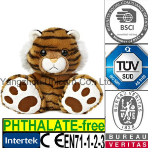 EN71 Gift Cotton Soft Stuffed Animal Plush Toy Tiger