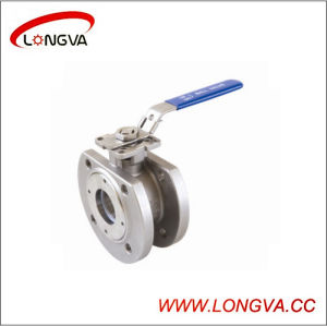 Sanitary Stainless Steel Flanged Ball Valve pictures & photos