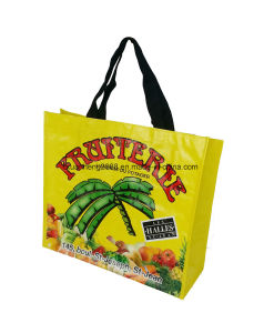 Recycled Colorful Transparent PP Woven Bag pictures & photos