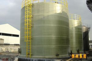 Green GRP Tank pictures & photos