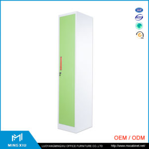 Luoyang Mingxiu High Quality Steel Furniture Gym Fireproof Vertical Personal One Door Steel Locker pictures & photos
