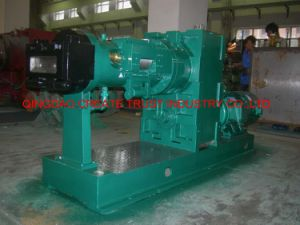 Hot Sale Pin-Barrel Cold Feeding Rubber Extruder/Rubber Extruding Machine/Rubber Extrusion Machine pictures & photos