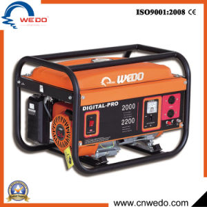 Wd3200 2kw/2.5kw/2.8kw 4-Stroke Portable Gasoline/Petrol Generators with Ce (168F) pictures & photos