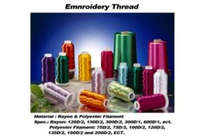 Export Italy Market 10 Years 100% Polyester Embroidery Thread pictures & photos