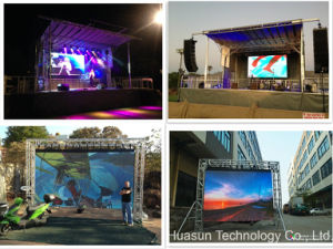 Galaxias P12 Soft Rental LED Video Wall for Events pictures & photos