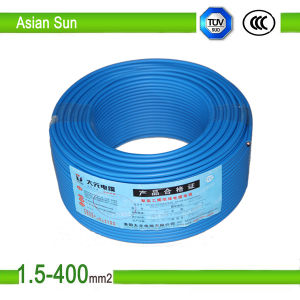 450V/750V Copper Wire PVC Insulated BV/Bvr Building Wire Cable pictures & photos