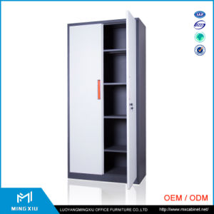 Luoyang Mingxiu Low Price 2 Door Metal Locker Style Storage Cabinet / Metal Storage Cabinets pictures & photos