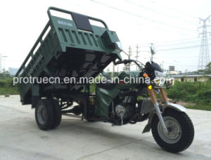 2 Ton Heavy Loading Cargo Tricycle with Double Rear Tyres pictures & photos