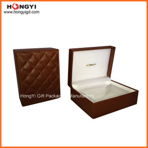 Luxury Handmade PU/Faux Leather Perfume Box Gift Box Rigid Box (HYP022) pictures & photos