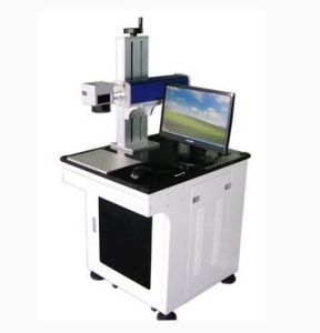 Jieda Advanced Design Fiber Laser Marking Machine for Deep Carving pictures & photos