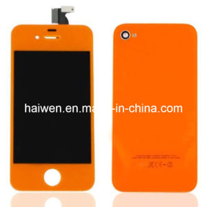 for iPhone 4S LCD & Touch Digitizer Assembly-Orange Color
