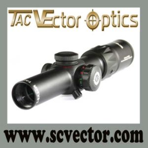 Vector Optics Grimlock Compact Long Eye Relief Side Illuminated Tactical Hunting Rifle Scope 1 -6X24 pictures & photos