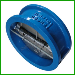 Dual Door Disc Check Valve-Wafer Butterfly Check Valve pictures & photos