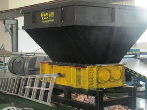 Cardboard and Waste Paper Double Shaft Shredder pictures & photos