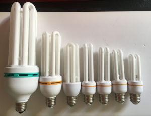 Energy-Saving Lamp U-Shape 9W 11W 15W Tri-Color CFL pictures & photos