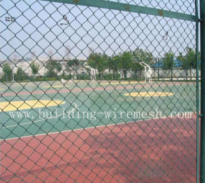 Galvanized Chain Link Fence / Diamond Wire Mesh pictures & photos