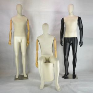 Fashion Fabric Cover Male Mannequin for Windows Display pictures & photos