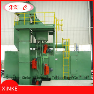 H Beam Steel Roller Conveyor Shot Blasting Machine for Removing Rust pictures & photos
