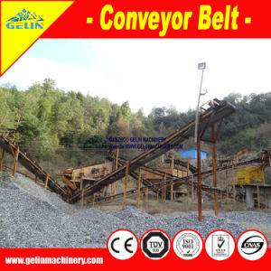 Large Conveying Capacity Portable Belt Conveyor Supplier pictures & photos