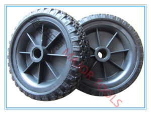 High Quality Wheel Barrow Direct Factory with Solid Wheel, PU Foam Wheel250-4 PU Foam Wheel pictures & photos