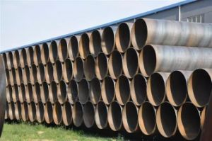 Carbon Steel Tube-X60 Spiral Steel Pipe