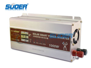 Suoer 1000W Power Inverter 24V to 220V Inverter (STA-1000B) pictures & photos