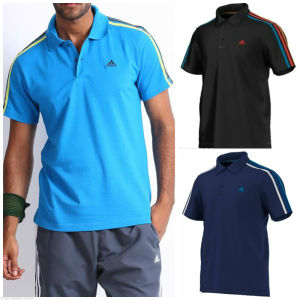 New Style Stripe Customized Men′s Polo Shirts pictures & photos