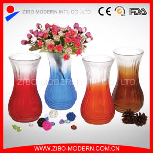 Wholesale Colors Spraying Glass Vase with Different Kinds pictures & photos