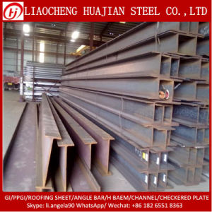 Hot Selling Steel H Beam by JIS Ss400 Standard pictures & photos