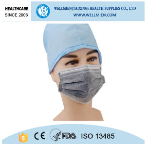Surgical Active Carbon 4 Ply Face Mask Carbon Filter Face Mask pictures & photos