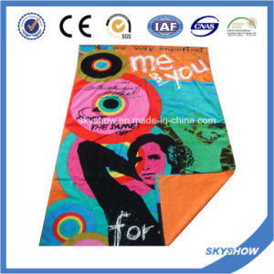 Custom Printed Beach Towel (SST1053) pictures & photos