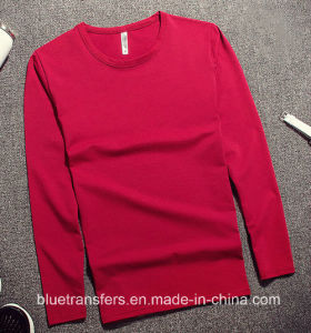 Polyester Men′s Long Sleeve T-Shirts in 4 Colors pictures & photos