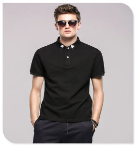 100% Cotton Top Quality DC Villain Men Polo Shirt with Wholesale Price