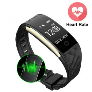 S2 Heart Rate Monitor Smart Band IP67 Waterproof Sport Wristband Fitness Tracker Remote Camera Anti-Lost for Android Ios