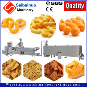 Snack Extruder Machine Production Plant