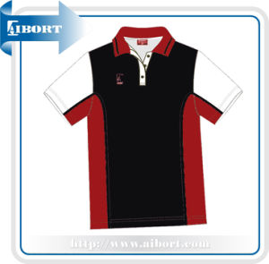 Red Polo Collar Shirts (KSI-12-1C)