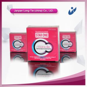 Latex Ribbed Vibrating Condom with Good Quality pictures & photos