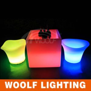 LED Lighting Big Decorative Flower Pots for Sale pictures & photos